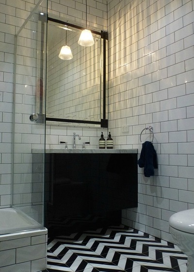 Black Mosaic Wall Tile