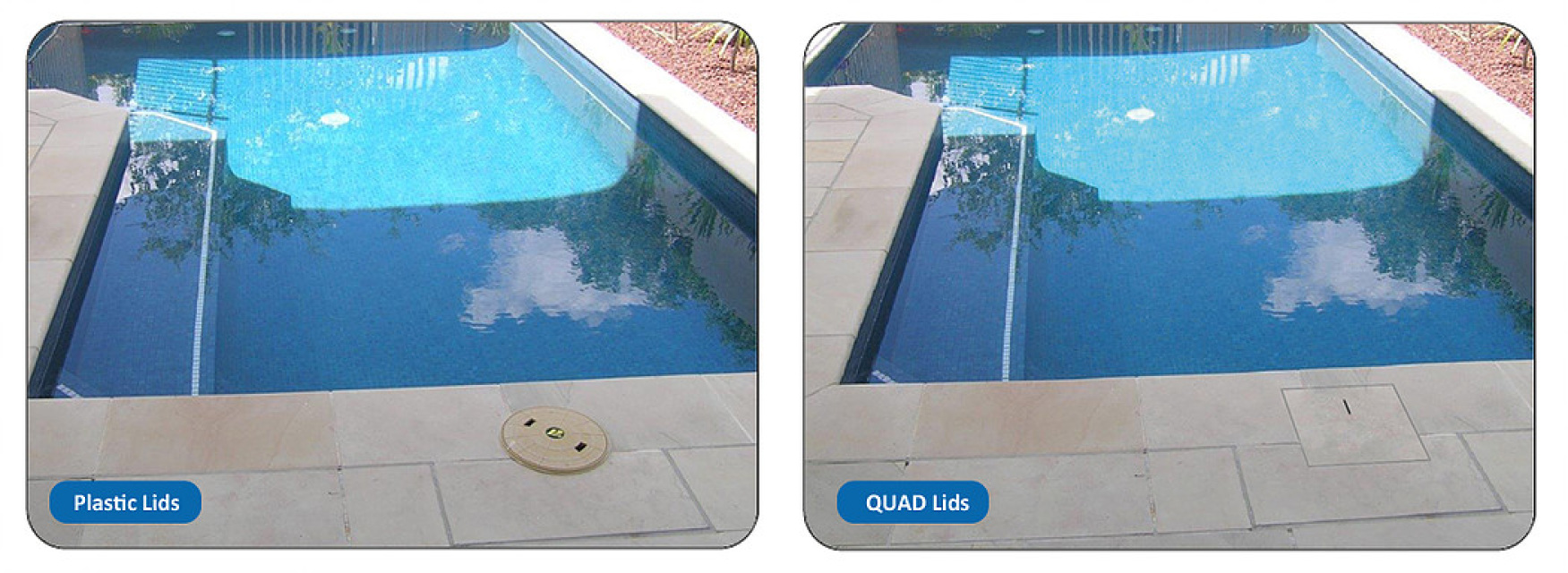 Quad Skimmer Box Tile Lid
