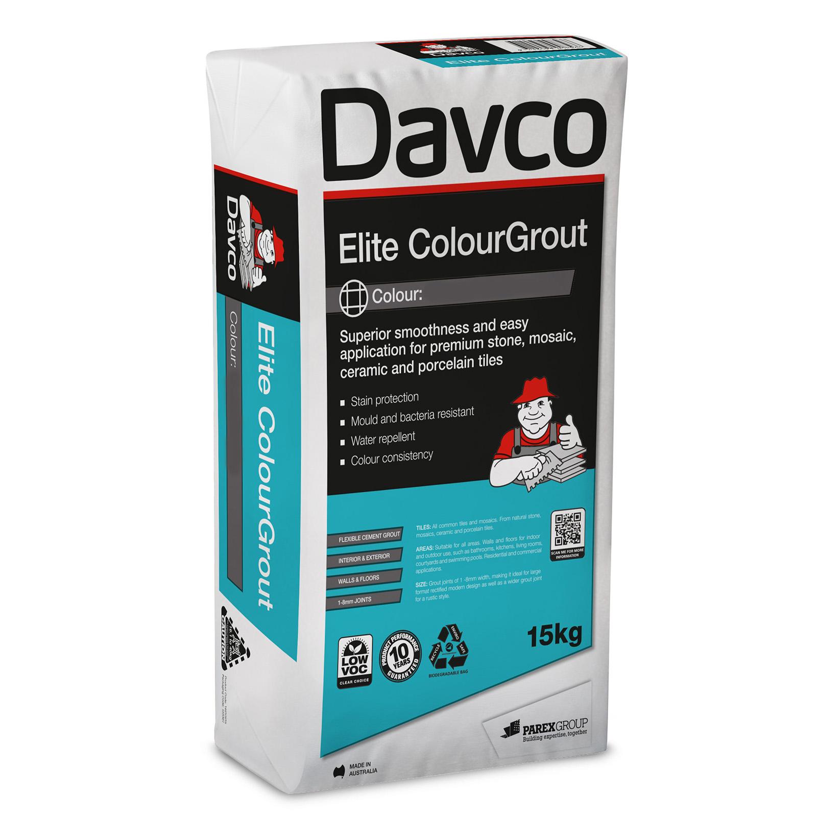 Davco 15kg Elite ColourGrout